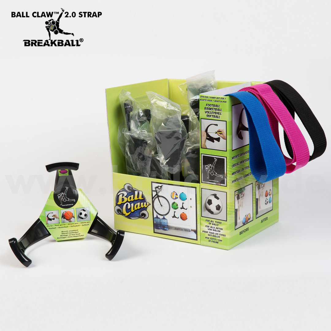 3er Pack BALL CLAW 2.0 STRAP