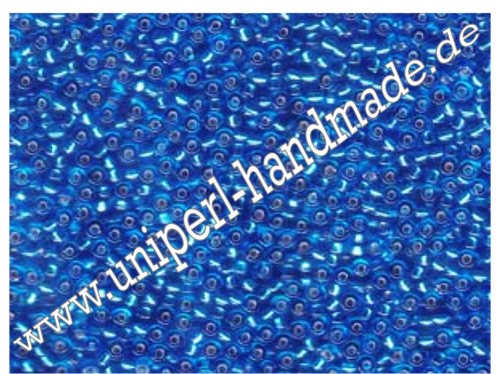 R-11-0019 Miyuki Seed Beads 11/0 (2,0 mm), Transparent Silver Lined Sapphire