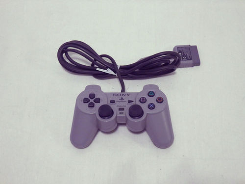 Manette DualShock Sony PlayStation 1 grise