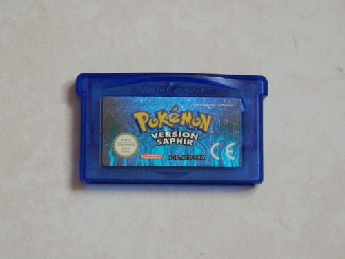 [GBA] Pokemon saphir alpha