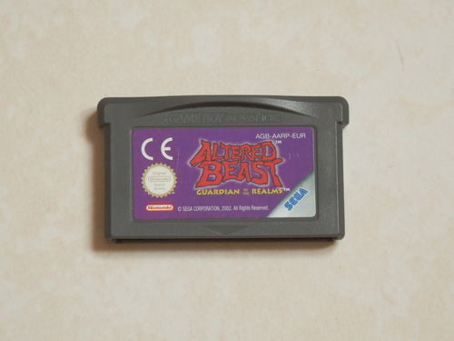[GBA] Altered beast - guardian of the realms