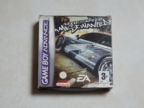 [GBA] Need for speed - most wanted en boite