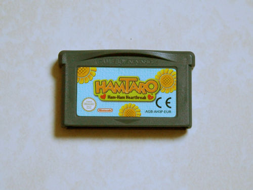 [GBA] hamtaro ham ham heartbreak