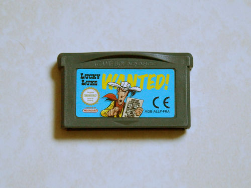 [GBA] Lucky luke wanted