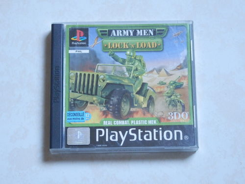 [PS1] army men - lock n load