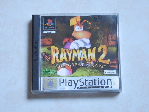 [PS1] rayman 2 the great escape
