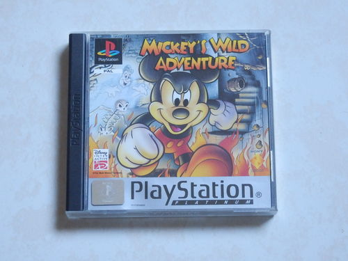 [PS1] mickey - wild adventure