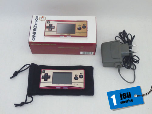 Nintendo Game Boy Micro Super Mario Bros. Edition en boîte [Jap]