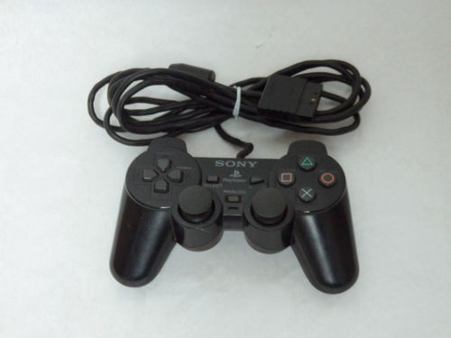 Manette DualShock Sony PlayStation 2 noire