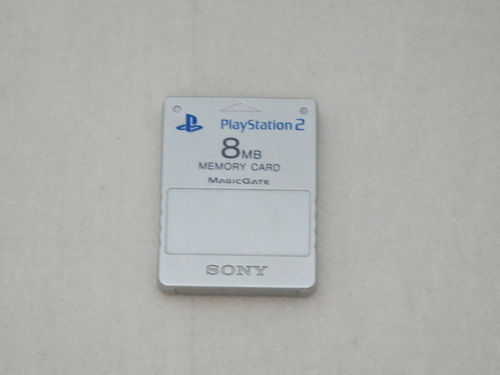 Carte mémoire Sony PlayStation 2 grise 8 Mo