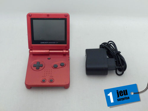 Nintendo Game Boy Advance SP rouge