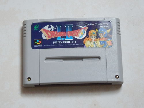 [SNES-JAP] dragon quest 1 & 2