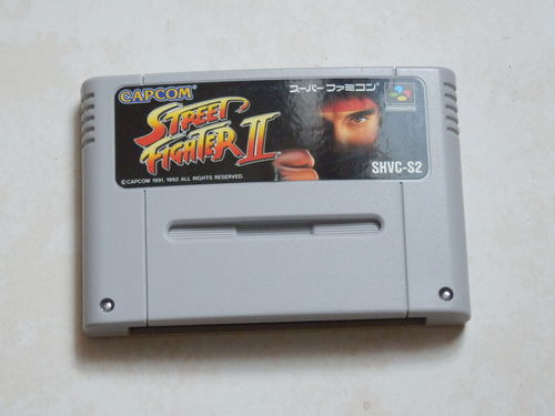 [SNES-JAP] street fighter 2