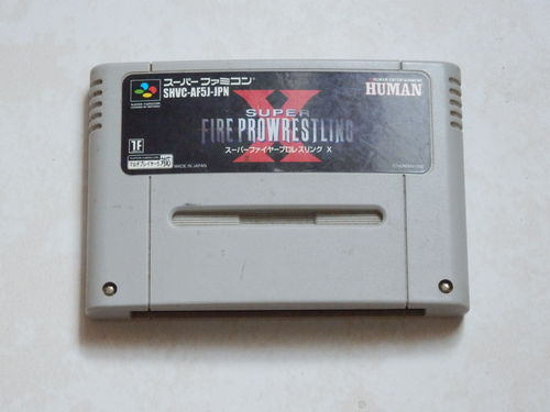 [SNES-JAP] super fire pro wrestling x