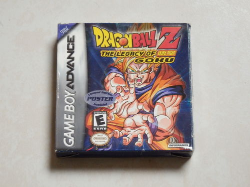 [GBA] dragon ball - legacy of goku en boite