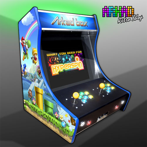 "Bartop Arkad Box GT ""Mario Univers"" PC"