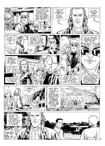 Vallée : Gil St André tome 4 planche 27