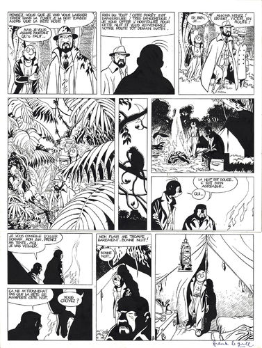 Le Gall : Théodore Poussin tome 8 planche 28