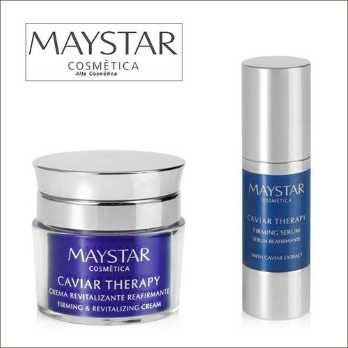 Maystar. Pack Caviar Therapy Crema + Sérum