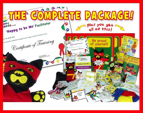 'Happy to be Me' - The Complete Package for Self-Esteem Nurture Group Programme