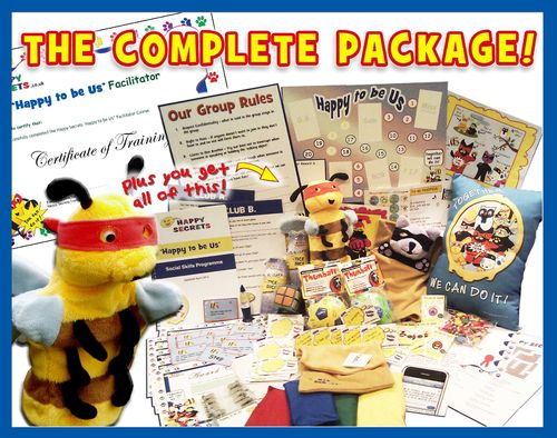 'Happy to be Us' - The Complete Package for Social Skills Nurture Group Programme