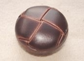 Mock leather button