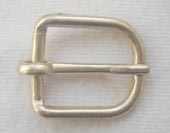 Gilt finished metal buckle