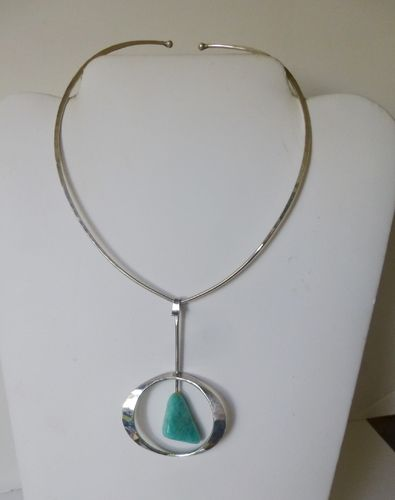 Tone Vigeland, Norway Plus, Sterling pendant and torc