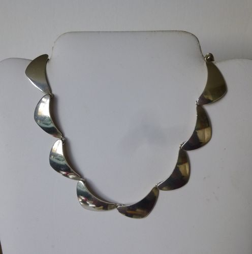 N.E.From Sterling silver necklace