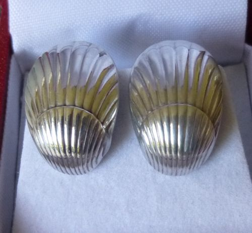 Georg Jensen Arno Malinowski  Sterling Earrings 90 - posts for pierced ears