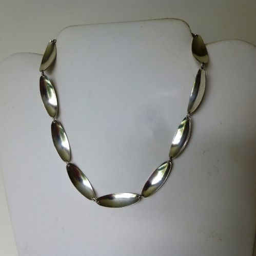 Anton Michelsen Sweden Sterling silver necklace