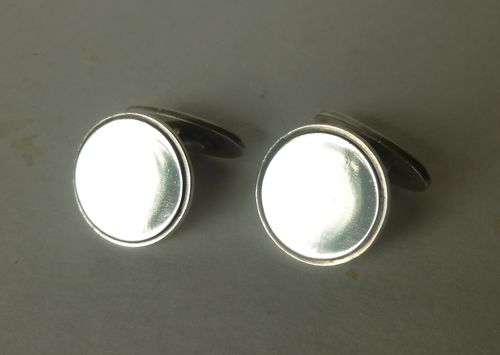 Georg Jensen Sterling silver cufflinks no.54 by Henry Pilstrup