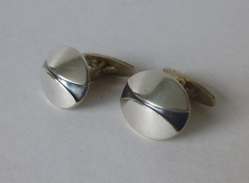 Hans Hansen Sterling silver cufflinks no.650