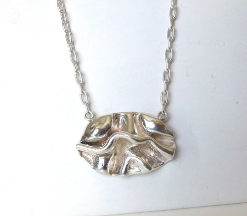 Britta Jensen Sterling silver necklace