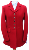 Ladies Scarlet Hunt Coats