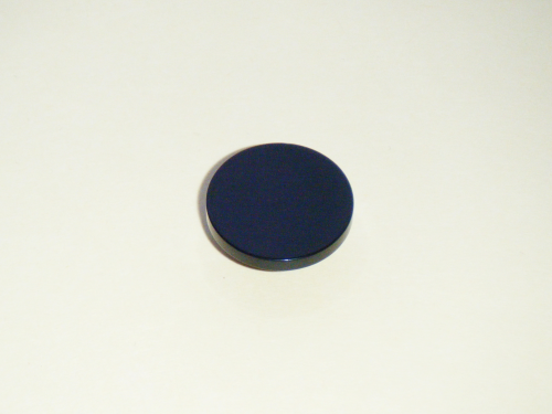 Black Gloss Flat Fronted Standard Coat & Cuff Buttons - NEW