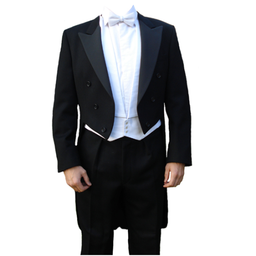 "Gents 36"" to 52"" Black Evening Dress Tail Coats"