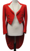 Red Evening Dress Tail Coats