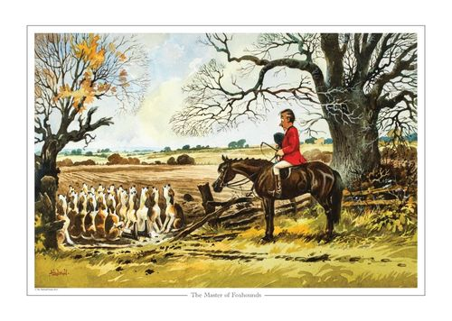 """The Master of Foxhounds"" Collectors Print by Norman Thelwell"
