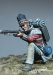 Kneeling Private British 71st Regiment 1815