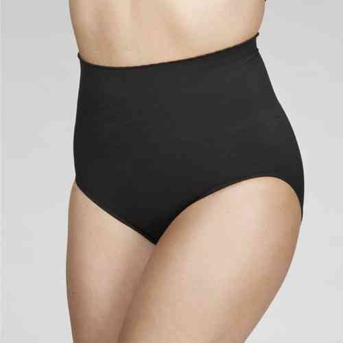 Your Secret High Waist Pant - Love Heart Design - Black