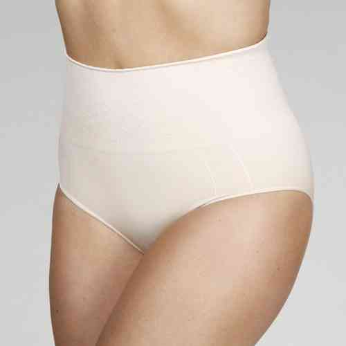 Your Secret High Waist Pant - Love Heart Design - Nude
