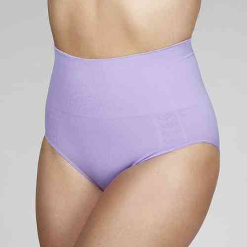 Your Secret High Waist Pant - Love Heart Design - Deep Lilac