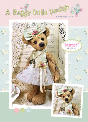Margot Artist Bear Sewing Pattern