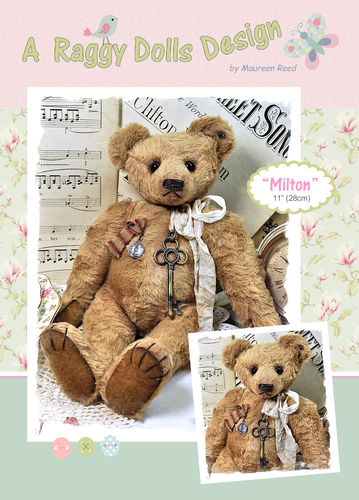 Milton Artist Bear Sewing Pattern