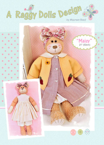 Maisy Rag Doll Sewing Pattern