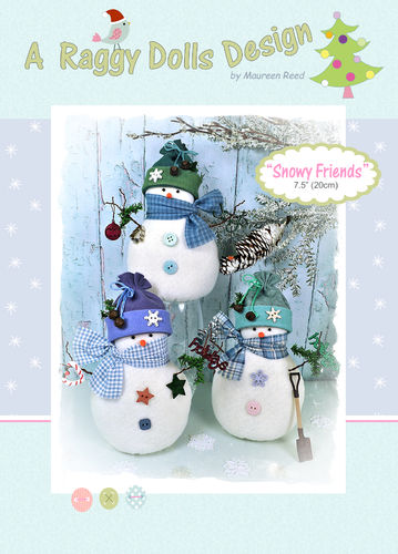 Snowy Friends Sewing Pattern