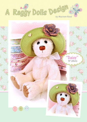 Daisy Bear Sewing Pattern