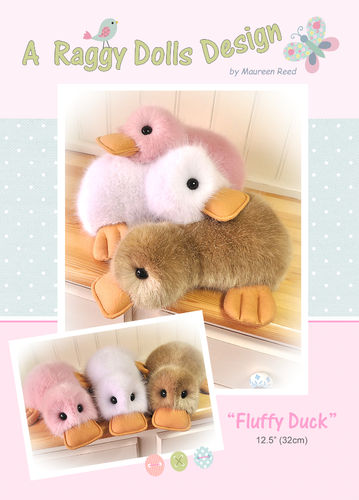Fluffy Ducks Sewing Pattern