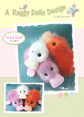 Crazy Ducks Sewing Pattern